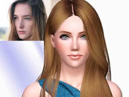 sims 3 hair custom content sims and just stuff josephine le tutour for sims 3 by squarepeg56