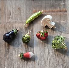 Chili Pepper Christmas Ornaments - glitter fruit and vegetable christmas ornaments u2014 healthfully ever