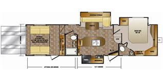 Crossroads Travel Trailer Floor Plans 2012 Crossroads Rv Elevation Fifth Wheel Series M 3310 Specs And