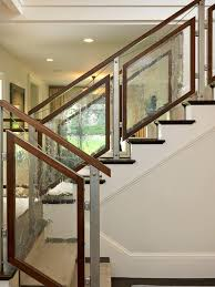 Contemporary Handrail Glass Railing Cost Deck Rustic With Outdoor Living Space Craftsman
