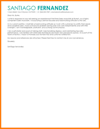 Cover Letter Exle Retail Sales 10 cover letter exles for retail sales associate letter flat