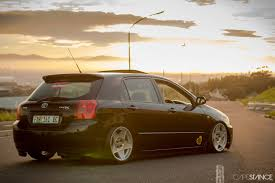 stanced toyota cape stance nithaam fakier u0027s bagged toyota runx