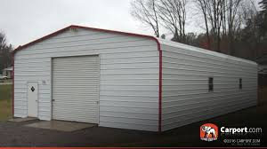 metal garage with regular roof 24 u0027 x 36 u0027 shop metal buildings