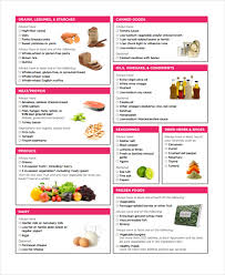 grocery shopping list templates 9 free word pdf format