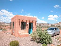 pueblo style house plans a 120 square foot adobe house in o keeffe country solar