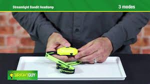 Streamlight Hard Hat Light Streamlight Bandit Usb Headlamp Review Youtube
