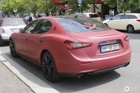 maserati ghibli red 2015 maserati ghibli s 2013 27 july 2017 autogespot