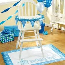 baby boy birthday ideas decorated highchair for 1st birthday see more boy birthday