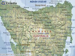 map of tasmania australia map of tasmania australia