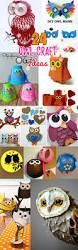 diy birds craft 24 easy paper owl craft ideas for kids diy