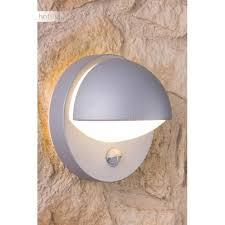 le exterieur avec detecteur de mouvement applique murale d extérieur reno avec détecteur de mouvement gris