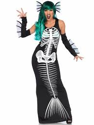 mermaid costume mermaid costume skeleton mermaid costume horror mermaid