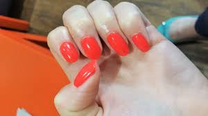 the no chip manicure at hepburns nail lounge dundee the