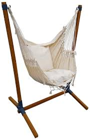 hanging chair brazil with hanging chair stand made of bamboo