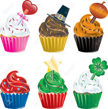 thanksgiving cup cakes six different holiday cupcakes christmas halloween thanksgiving