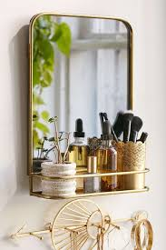 Bathroom Mirror Ideas Pinterest by Edith Mirror Shelf Shelves Bathroom Vanities And Vanities