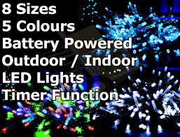 multi function christmas lights battery operated multi function outdoor led timer christmas lights