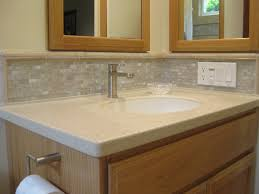 bathroom vanity backsplash ideas white groutless pearl shell tile bathroom vanity backsplash subway