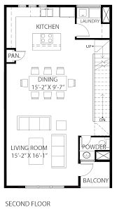three story floor plans 2342 commerce street urban lofts townhomes
