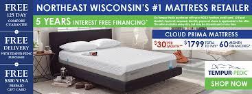 Temper Pedic Beds Mattresses Wg U0026r Furniture