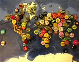 Beer Map A World Of Suds I U0027ve Been Wanting To Make This