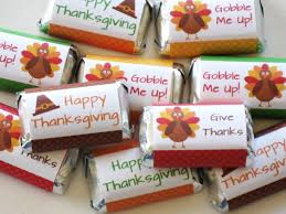 thanksgiving favor mini wrappers digital