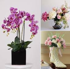 silk flower arrangements beautiful artificial silk flowers arrangements for home decoration