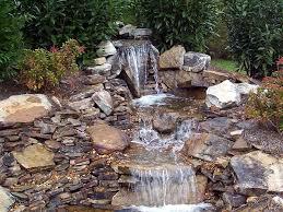 Waterfall Backyard Download Backyard Waterfalls And Ponds Garden Design