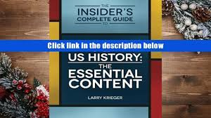 free download the insider s complete guide to ap us history the
