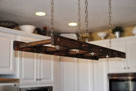 lighted hanging pot racks kitchen pots rustic pot rack photo diy rustic pot rack rustic kitchen