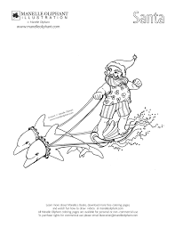 manelle oliphant illustration free coloring page friday surfing