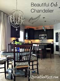 Orb Chandeliers Let S Talk Lighting Sprinkled Nest