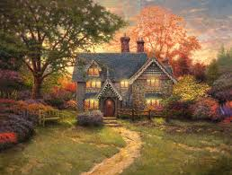 Cottege by Gingerbread Cottage U2013 Limited Edition Art The Thomas Kinkade Company