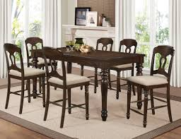 Counter High Dining Room Sets by Darby Home Co Gabriel Counter Height Dining Table Wayfair