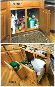 Kitchen Cabinet Space Saver Ideas Space Saver Kitchen Sink Trap Astounding Kitchen Cabinet Space