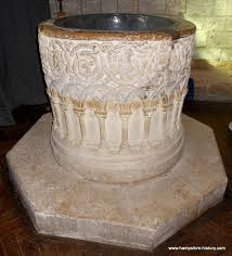 baptismal fonts hshire baptismal fonts from the saxon to the modern