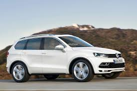 volkswagen mid size suv for the us rendered autoevolution