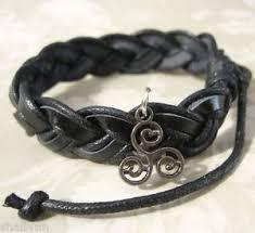 tw teen wolf inspired triskele triskelion tattoo charm black