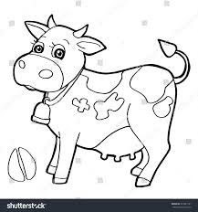 cattle paw print coloring pages vector เวกเตอร สต อก 323281181