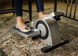 Desk Exercises To Burn Calories I Tried An Under Desk Elliptical Machine Because January Allure