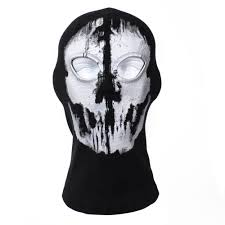 Skateboard Halloween Costumes Ghost Mask Masks Halloween Mask Party Scary Mask Ghost Mask