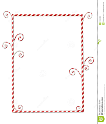 candy cane clipart boarder pencil and in color candy cane