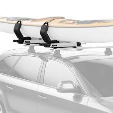 lifted nissan armada 2017 thule nissan armada 2017 2018 hullavator pro lift assist kayak