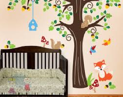 Wall Stickers For Kids Rooms by Kids Wall Decal Etsy
