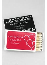 personalized cracker boxes db exclusive personalized match box pack of 50 david s bridal