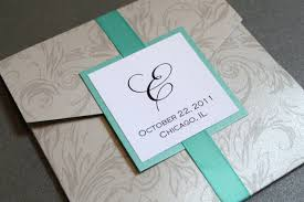 pocket wedding invitations silver damask pocket wedding invitation square decadentdesigns