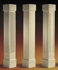 square craftsman columns