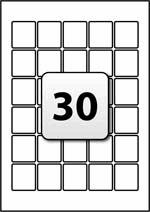 33 Labels Per Sheet Template by Address Labels Flexi Labels