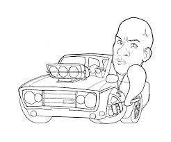 fast furious coloring pages getcoloringpages
