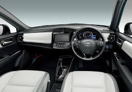 toyota corolla 2017 interior 2018 toyota corolla axio wxb interior indian autos blog